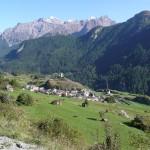 Herrliche Bergwelt bei Ardez