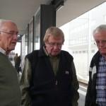 """Die """"3 B's"""" warten in Wallisellen auf den Zug"""
