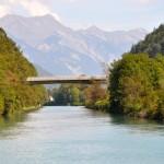 Kurz vor dem Zieleinlauf in Interlaken