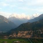 Hier ist es, das Panorama mit Eiger, Mönch und Jungfrau