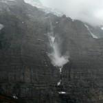Grosser Gletscherabbruch an der Jungfrau