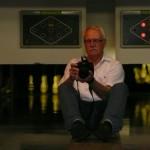 Fotograf in heikler Position