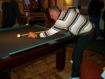 Didi im Billiardfieber