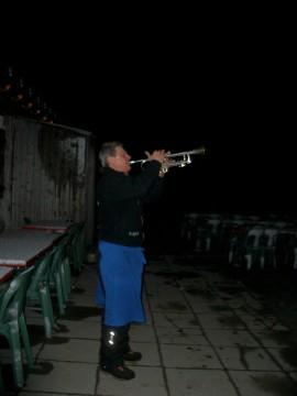 Alpsegen mit Trompete